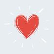 Heart shape for love symbols. Heart shape for love, like symbols