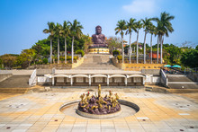 Big Buddhist Statue In Changhu...