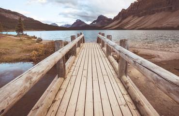 Fototapeta Rzeki i Jeziora Bow lake