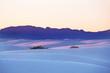 canvas print picture White Sand Dunes