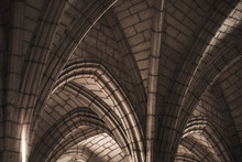 Gothic Ceiling Structure, Abst...