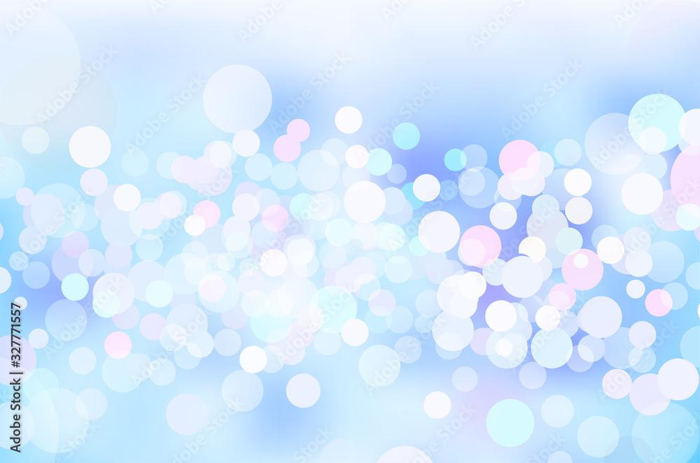 青色の輝き幾何学抽象円形グラデーションベクター背景素材