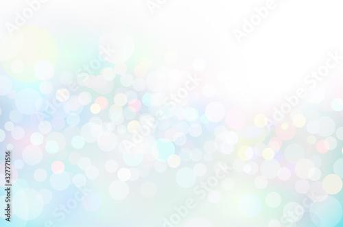 Obraz 幻想的な輝き幾何学抽象円形グラデーションベクター背景素材 - fototapety do salonu
