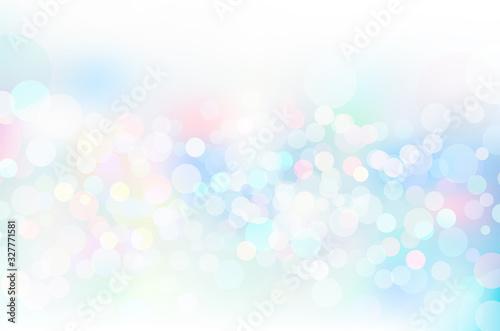 幻想的な輝き幾何学抽象円形グラデーションベクター背景素材 Fototapete