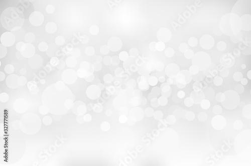 Obraz 銀色の輝き幾何学抽象円形グラデーションベクター背景素材 - fototapety do salonu