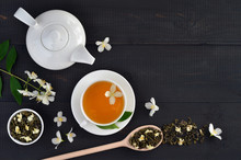 Cup Of Green Tea With Jasmine ...