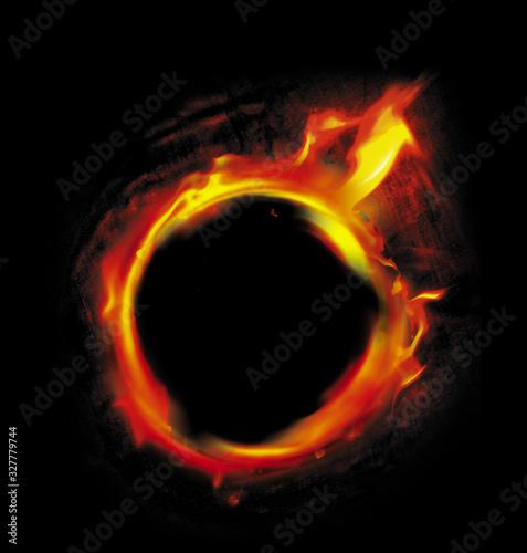 Fototapeta Burning hole obraz