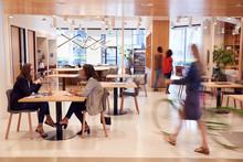 Interior Of Modern Open Plan O...