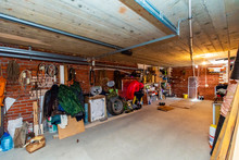Garage In The Basement Of The ...