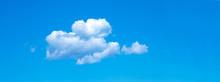 Blue Sky Background With Tiny ...