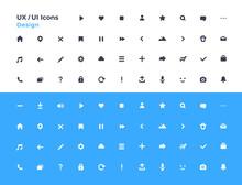 UI Icons Set. Vector. For Mobi...