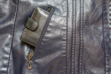 Wallet In A Pocket Of A Leathe...