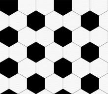 Soccer Ball, Black And White. ...