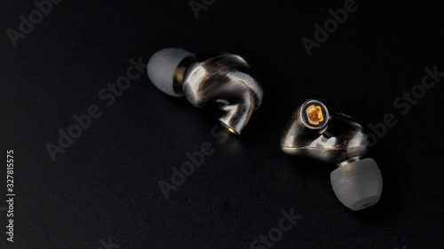 Photo Audiophile in-ear earphone with MMCX connector