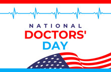 National Doctors' Day Vector B...