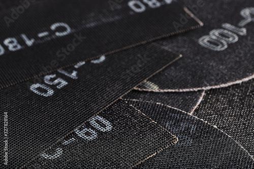 Silicon carbide alumina Canvas Print