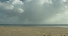 Beach And Sea In Cornwall Engl...
