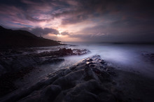 Morning At Bracelet Bay With A...