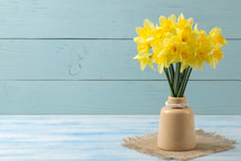 Spring Flowers, Yellow Daffodi...