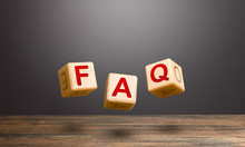 Wooden Blocks Make Word Abbreviation FAQ (frequently Asked Questions). Convenient Form Of Answers Explanations For Users And Customers. Instructions And Rules. Avoid Frequent Errors, Misunderstandings