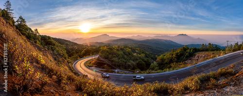 Fototapeta Beautiful road, Inthanon, Chiang Mai, Thailand obraz