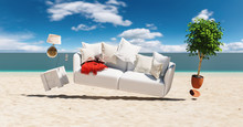 Flying Sofa And Furniture In W...