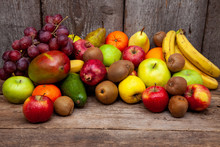 Fruit Background With Place Fo...