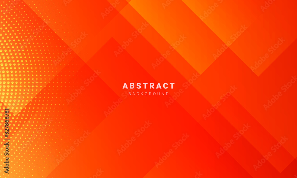 Fototapeta Abstract minimal orange background with geometric creative and minimal gradient concepts, for posters, banners, landing page concept image