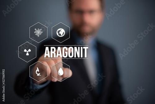 Aragonit Canvas Print