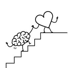 Heart Helping Hand Brain To Su...