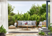 Cozy Patio Area With Garden Fu...