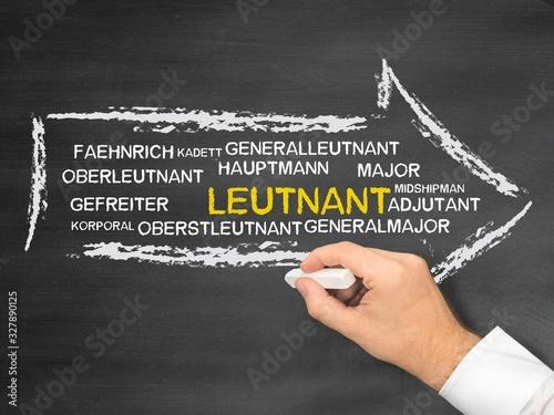 Leutnant Canvas Print