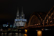 Cologne Dom and Hohenzollern bridge are most recognisable landmarks in Cologne