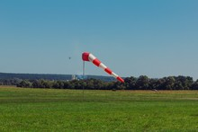 Windsock Wind Aviation Red Cone,  Safety.