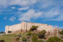 Antiguo Castillo Del Municipio De Fuengirola En La Provincia De Málaga, Andalucía