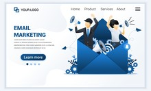Landing Page Template Of Email...