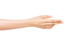 Woman Hand Gesture (give, Help...