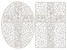 Set Of Outline Illustrations O...