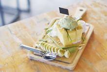 Dessert Menu, Honey Toast With...