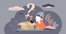 Mystery Box Wonder Concept, Fl...