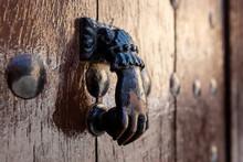 Vintage Door Knocker In A Shap...