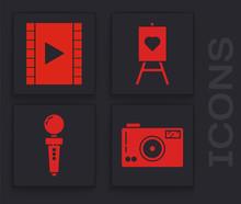 Set Photo Camera, Play Video, ...