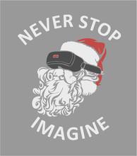 Santa Claus With Virtual Reali...