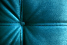 Bright Turquoise Headboard And...