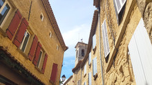 Romanesque Architecture  In Chateauneuf-du-Pape, Rhone Valley, France