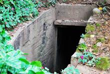 Old Abandoned Bomb Shelter. Ol...
