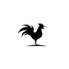 Rooster Logo Template Vector I...