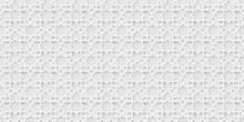 White Islamic Background, Light Arabic Pattern