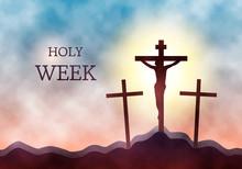 Crucifixion Of Jesus Christ On...
