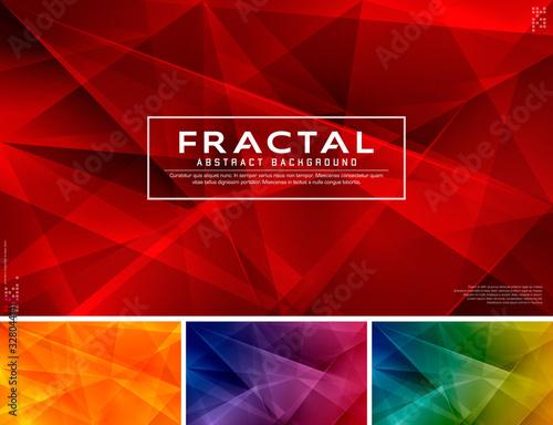 Fototapeta Fractal abstract background obraz